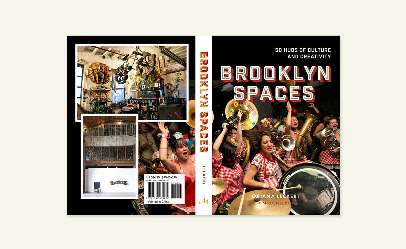 Brooklyn Spaces book details