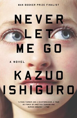 Inspiration of Never Let Me Go book cover