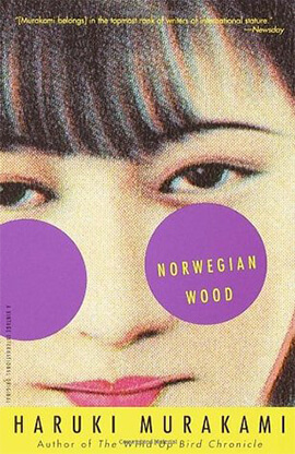 Inspiration of Norwegian Wood by Haruki Murakami book cover