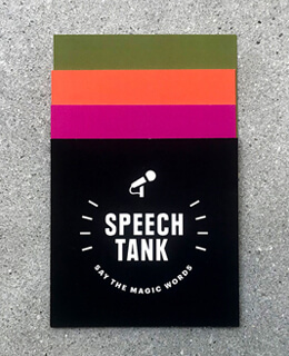 Speech Tank cover